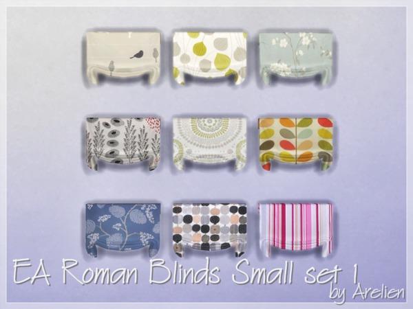 Small roman blinds for bathroom