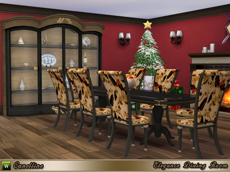 canelline s elegance dining room rh thesimsresource com