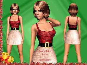 Christmas / Sims 3 Female Clothing