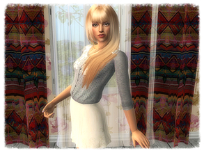 Sims 2 — Lousina by sirok2 — Young and tender girl for you