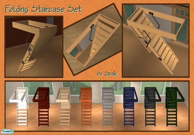 Spaik S Folding Staircase Set