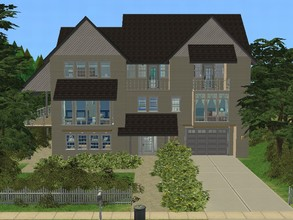 Sims 2 — Mountaintop Drive by millyana — Ultra big family home with 6 bedrooms, 5 bathrooms, living and family rooms, big