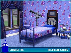 Sims 3 — Dalek Christmas by SimonettaC — Daleks with a santa makeover. Exterminate the dalek personality and bring some