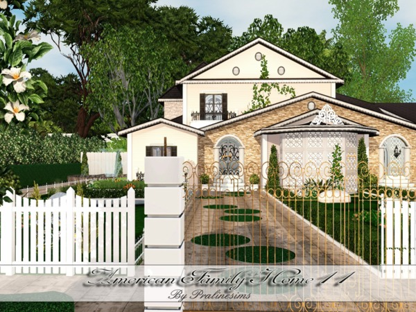 Pralinesims 39 american family home 11 for American family homes