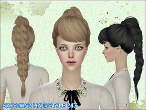 Sims 2 — skysims hair 247 by Skysims — skysims hair 247