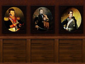Sims 3 — Chilean Revolutionary Figures by Iheartigs2 — Chilean Revolutionary Figures