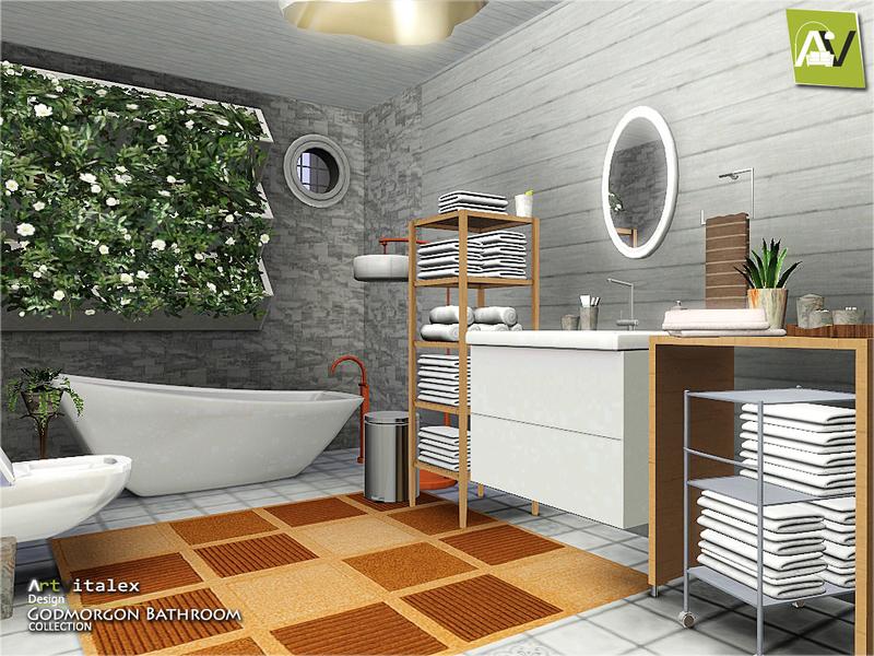 . ArtVitalex s Godmorgon Bathroom