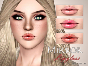 Sims 3 — Mirror Lipgloss by Pralinesims — New lipstick for your sims! Your sims will love their new look ;) - Fits with