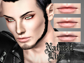 Sims 3 — Natural Lips by Pralinesims — New lipstick for your sims! Your sims will love their new look ;) - Fits with all