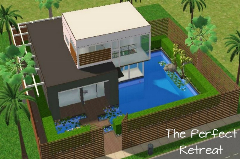 M4mysterious 39 the perfect retreat for Best house designs sims 3