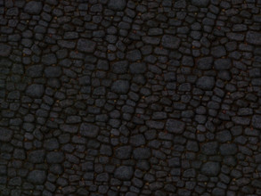 Sims 3 — CobbleStone01_T.D. by Sylvanes2 — Cobblestones for path creating for your sims3 lot. The small leaves between