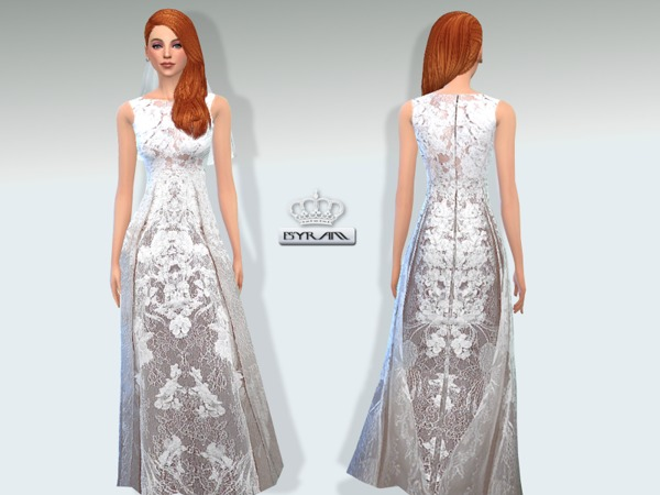 Lace Wedding Dress Sarah by EsyraM
