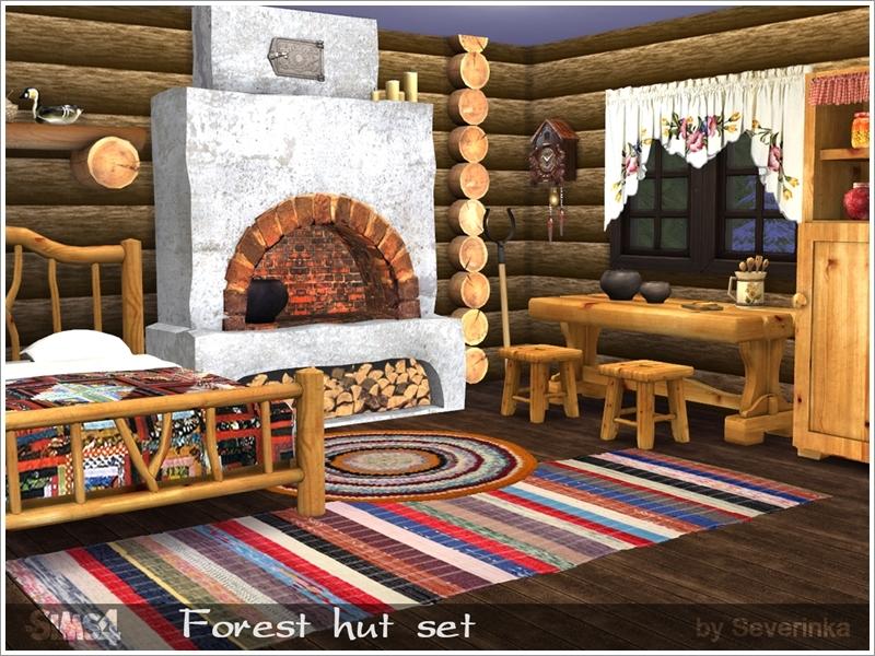 Severinka S Forest Hut Set