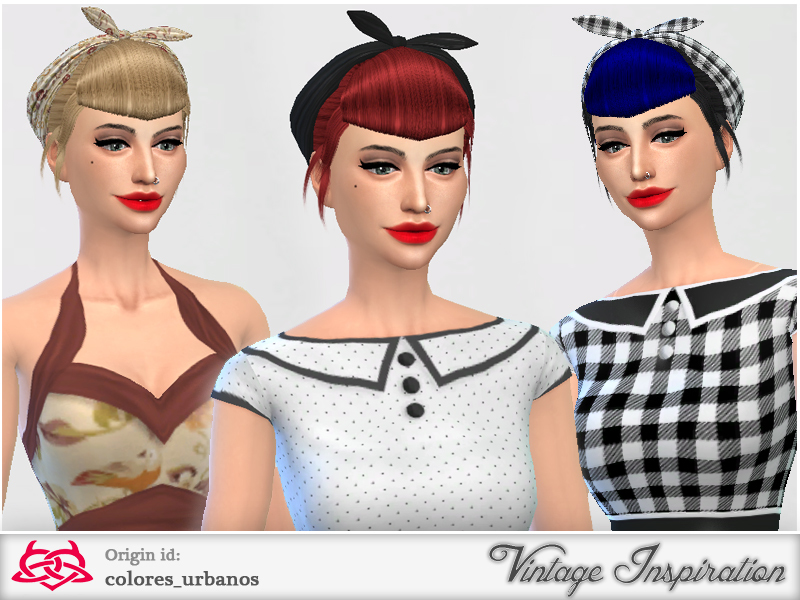 Colores Urbanos My Everyday Pinup Hairstyle 01
