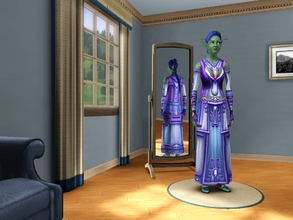 Sims 3 — Devout Robe Of Priests EF by egyptiansimlover2 — I made this for an Elder Female as it is called Devout I
