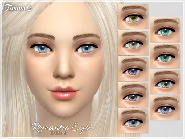 Romantic Eyes by tsminh_3