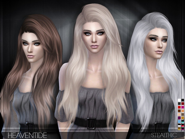Моды симс 4 волосы