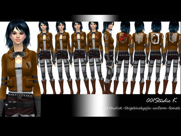 ShingekinoKyojin - Team Uniform by karzalee