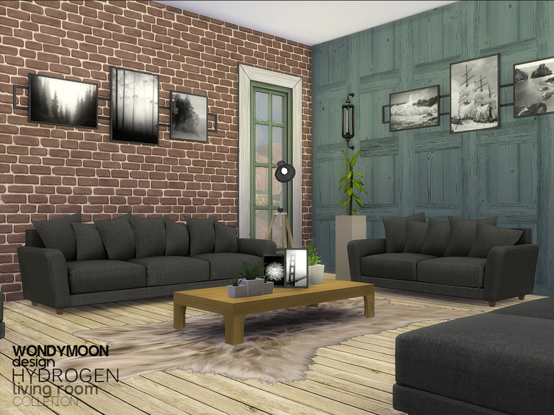 Sims  Living Room Recolor