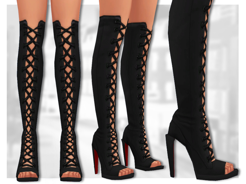 sentate s lilith boots knee high