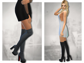 Sims  Winter High Shoes