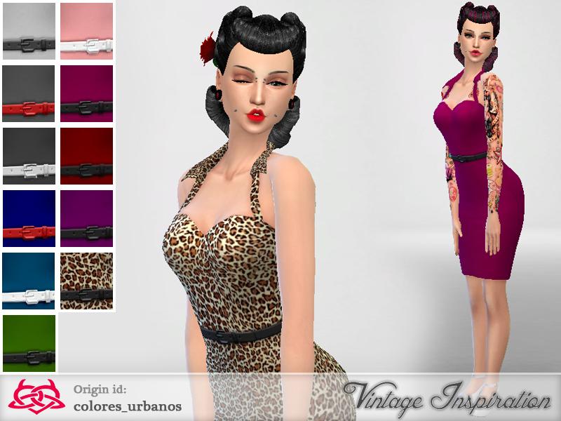 Colores Urbanos Pin Up Dress01