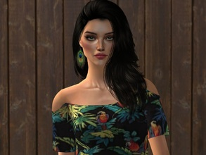 Sims 2 — Lexy by sirok2 — Young model Lexy