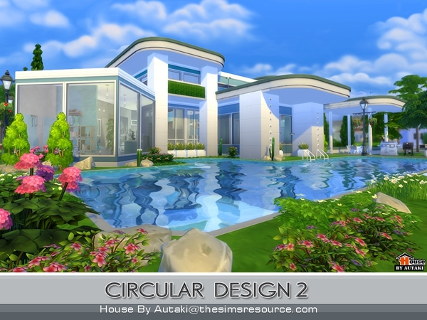 The sims 4 domy sims for sims for Pool design sims 4