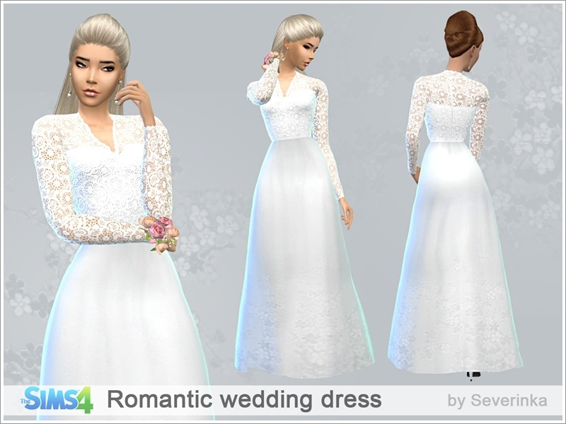 severinka_'s romantic wedding dress