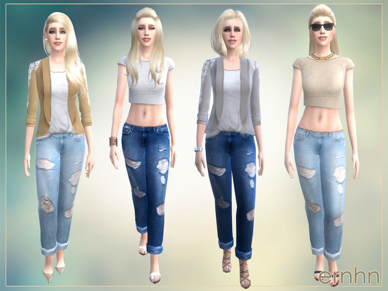 ernhn's Easy Casual Trend Set
