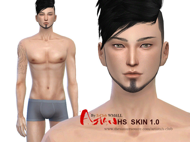 S-Club WMLL ts4 ASIAN H S ND skintones1 0