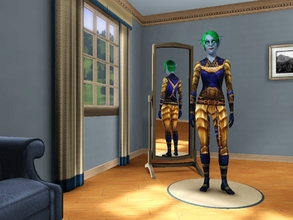 Sims 3 — Nightelf AF Huntress's Armor by egyptiansimlover2 — These are complete outfits,For adult female only I made