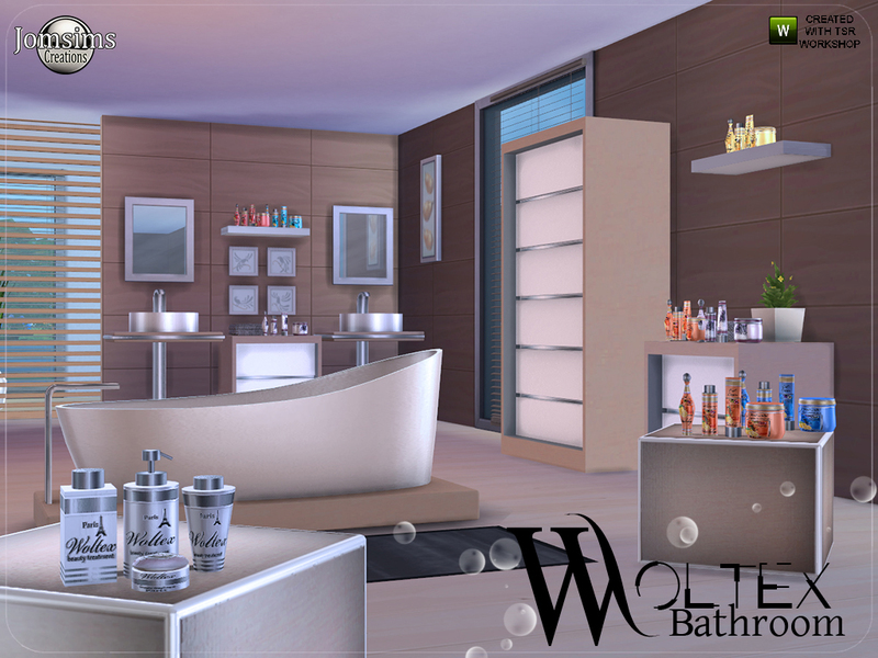 Jomsims 39 woltex bathroom for Bathroom design simulator