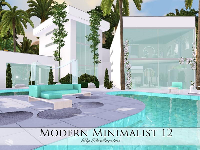 pralinesims modern minimalist 12
