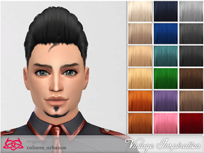 Sims 4 — Male hair 01 by Colores_Urbanos — at last! already here! hair for our boys! From Paraguay with love! enjoy!