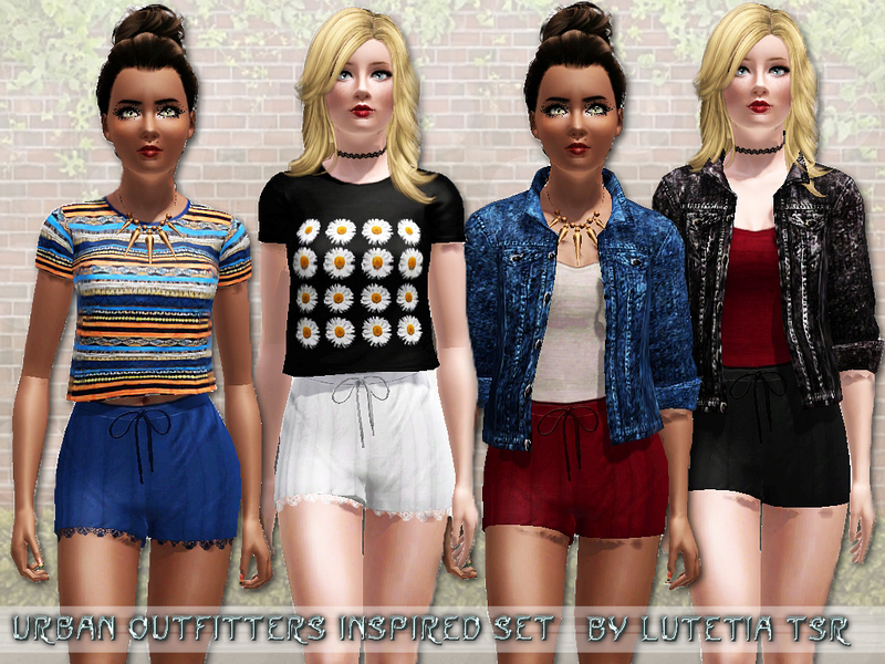 sims 3 store clothes free download