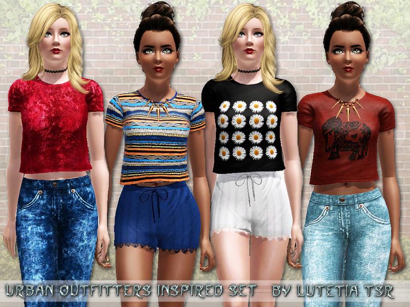 Urban teen clothing