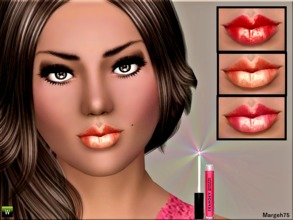 Sims 3 — Spring Gloss by Margeh-75 — -Get that moisture back on your sims lips for the spring , with a lovely shiny gloss