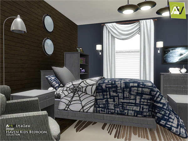 Totally Kids Totally Bedrooms: Totally Sims 3 Updates: Haven Kids Bedroom