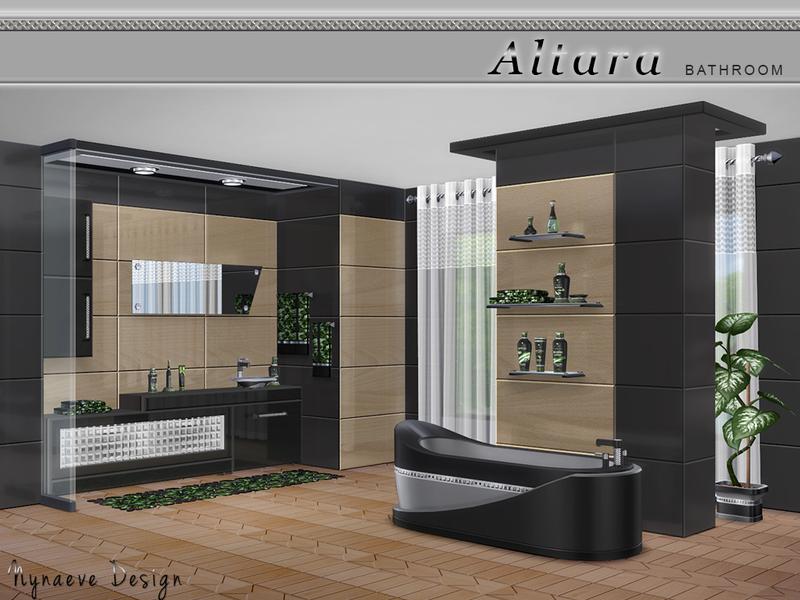 Nynaevedesign 39 s altara bathroom for Bathroom ideas sims 4