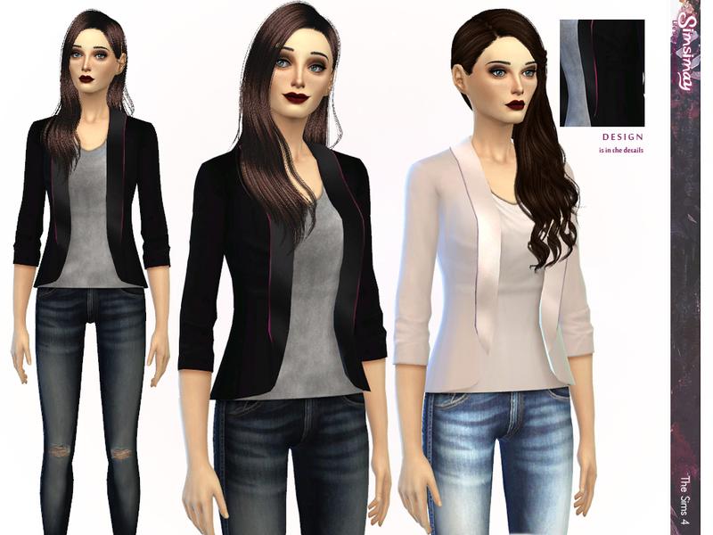 Simsimay's Minimal Blazer
