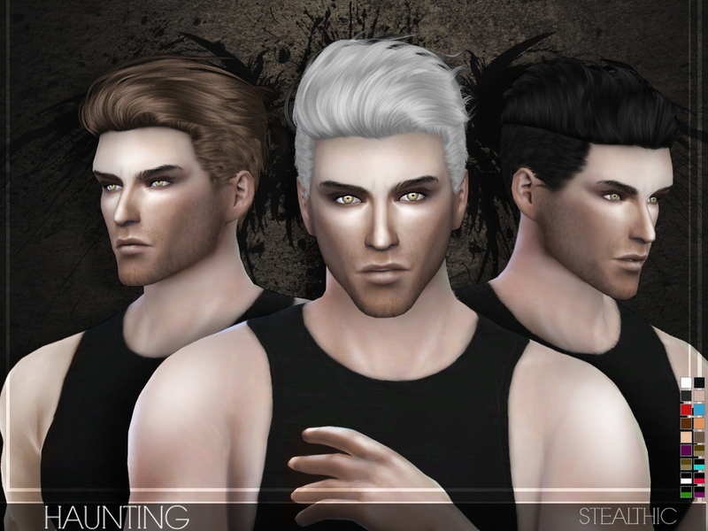 Souvent Stealthic - Haunting (Male Hair) BM25