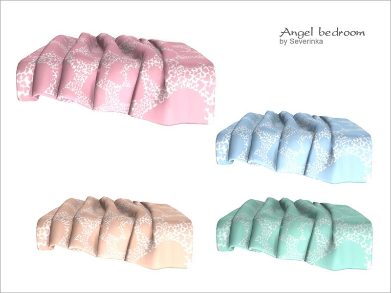 Severinka_'s Bed blanket Angel