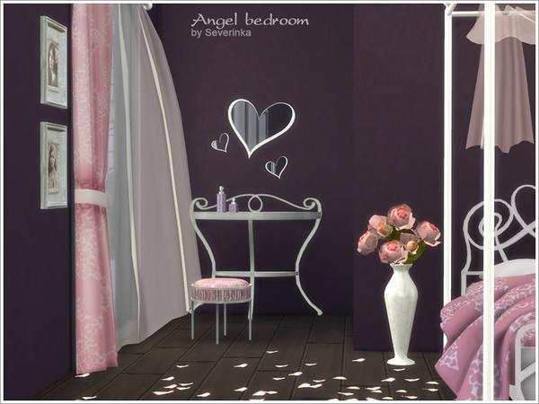 romantic bedroom angel