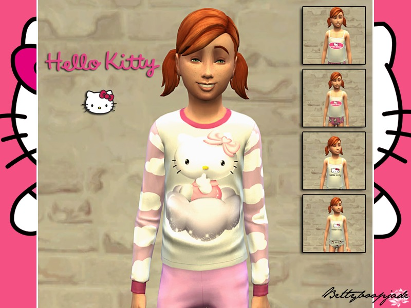 Bettyboopjade 39 s set hello kitty for Chambre hello kitty