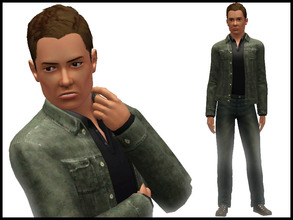 Sims 3 — Dean Winchester by Witchbadger — Supernatural: Dean Winchester - Young Adult, Charismatic, Brave, Excitable,