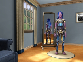 Sims 3 — BattlegearofMight TF & TM by egyptiansimlover2 — This is the battlegear set of might for teenage male and