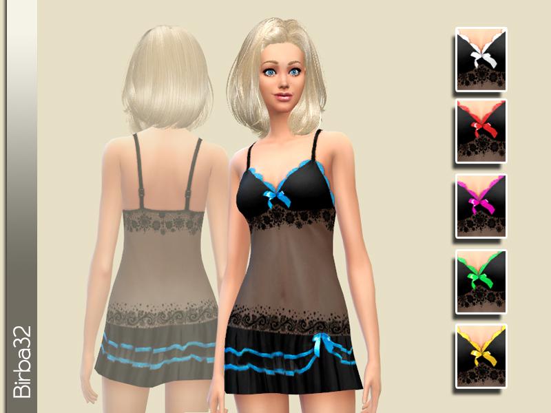 Birba32's Neon chemise