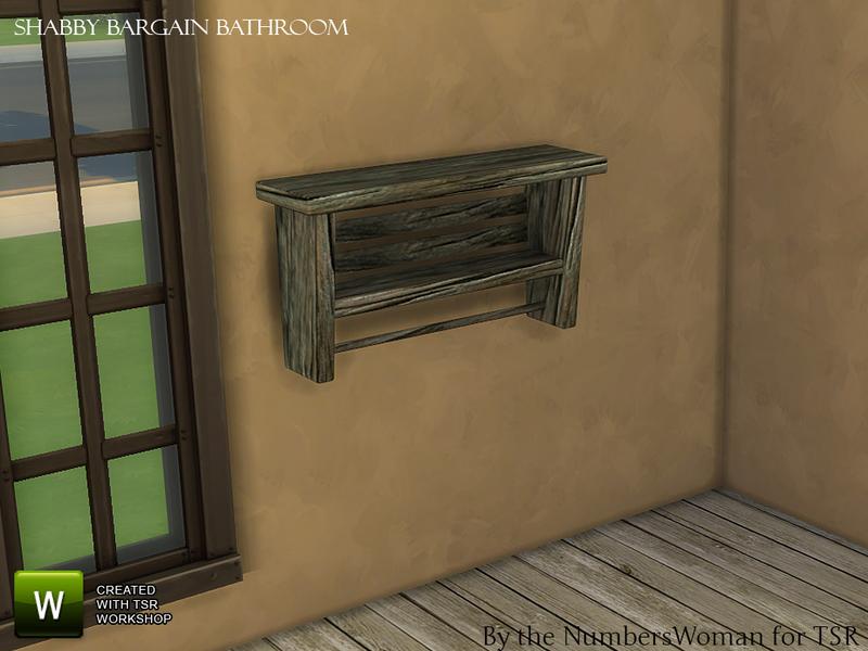 Thenumberswoman S Shabby Bargain Shabby Chic Bathroom Shelf