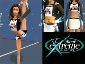 Sims 2 — Cheer Extreme Lady Elite Uniform Teen by Cheer4Sims2 — Cheer Extreme Lady Elite Uniform Teen